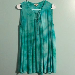 UMGEE tie-dye sleeveless top